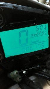 総走行距離 228km